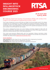Image of RTSA Insight Into Rollingstock course flyer (click for flyer download)
